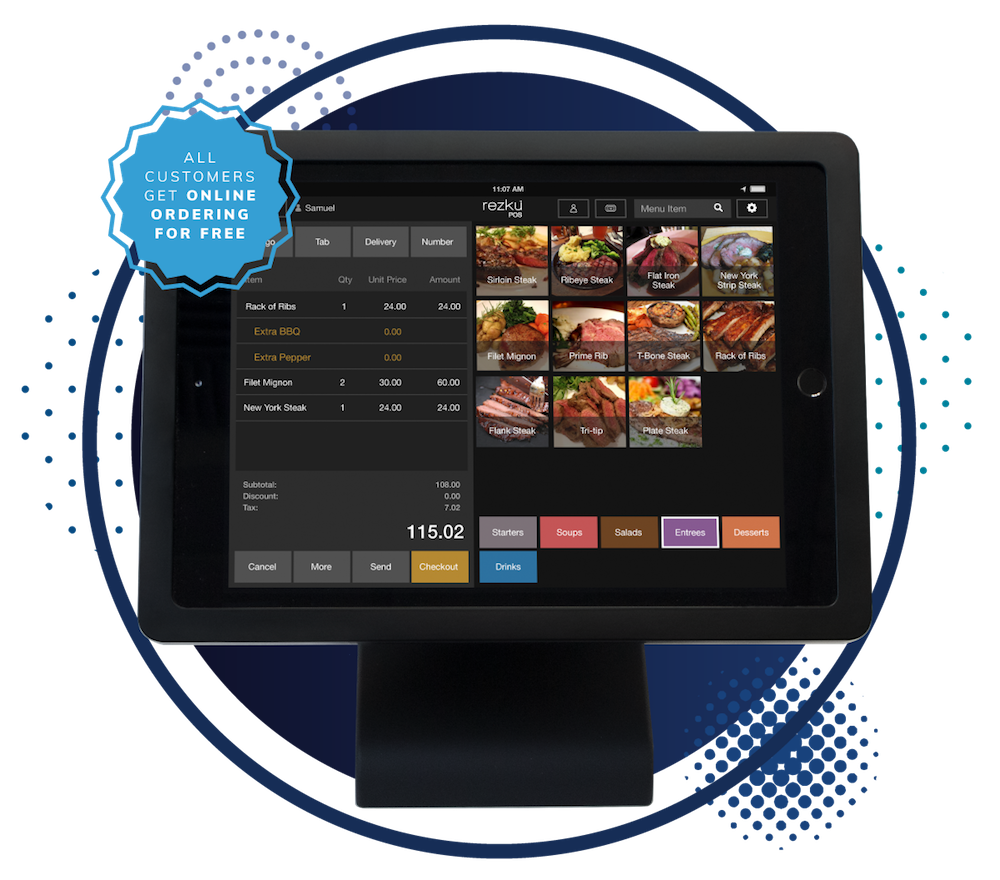 Ghost Kitchen POS System