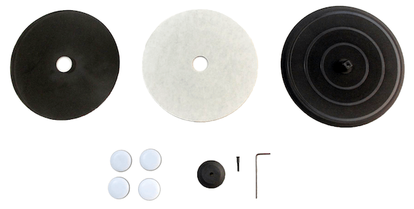 Assembly pieces for base