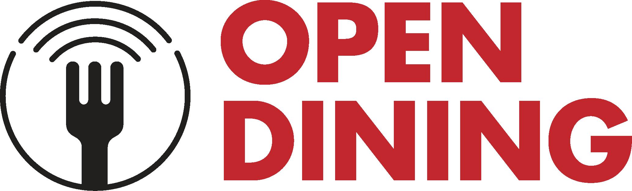 Open Dining logo