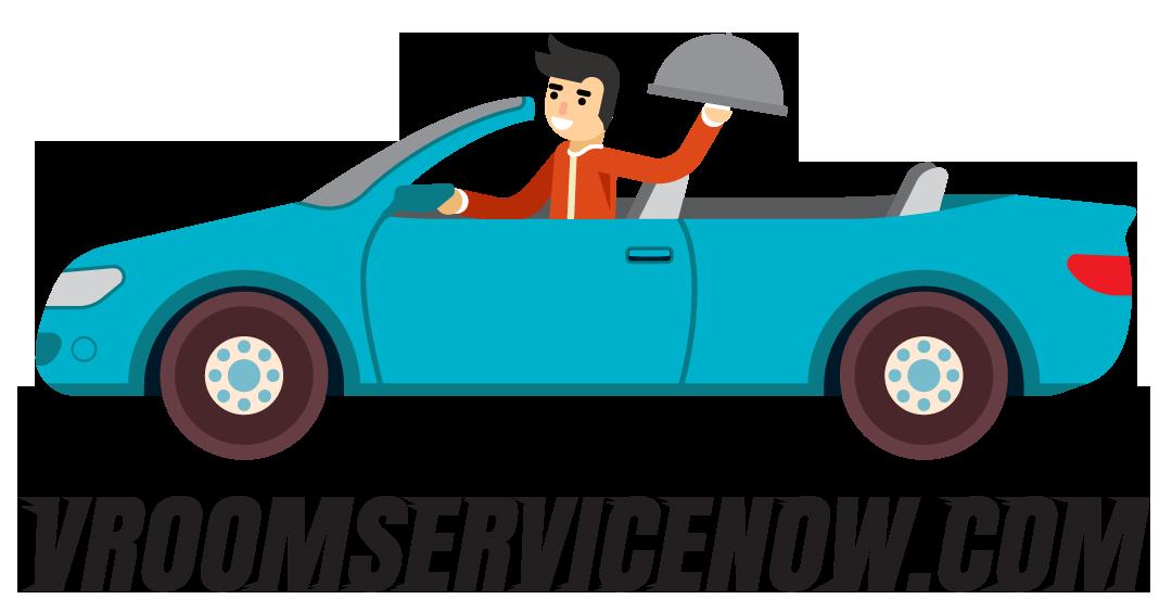 Vroom Service Now logo