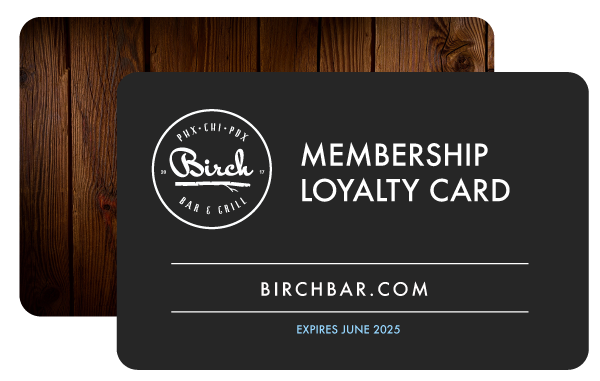 VIP Loyalty Cards