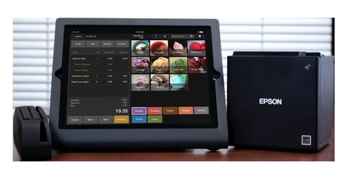 Ice Cream POS iPad