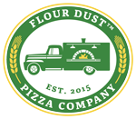 Flour Dust Pizza logo