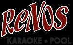 Reno's Karaoke Logo