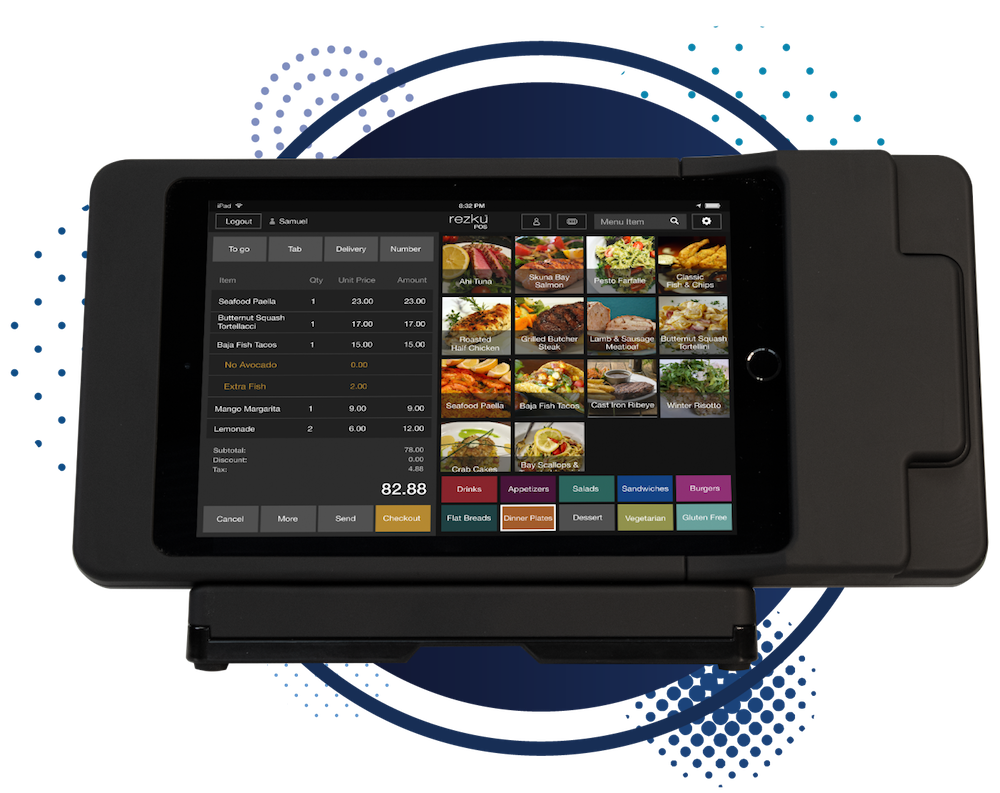 Rezku Ready is both table side ordering and a counter POS system.