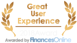 Great User Experience Reward from FinancesOnline