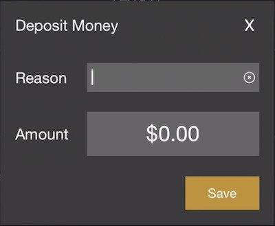 deposit money form