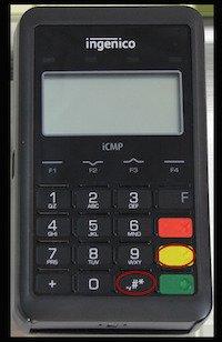 icmp card reader button demo