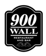 900 Wall Restaurant and Bar logo Rezku Prime Customer