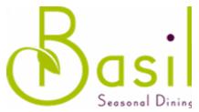 Basil Seasonal Dining Logo Rezku Prime Customer