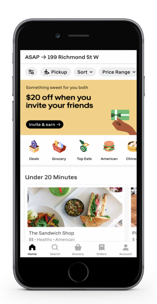 Third Party Online Ordering